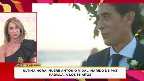 Patiño, Lydia Lozano y Kiko, devastados por la muerte del marido de Paz Padilla