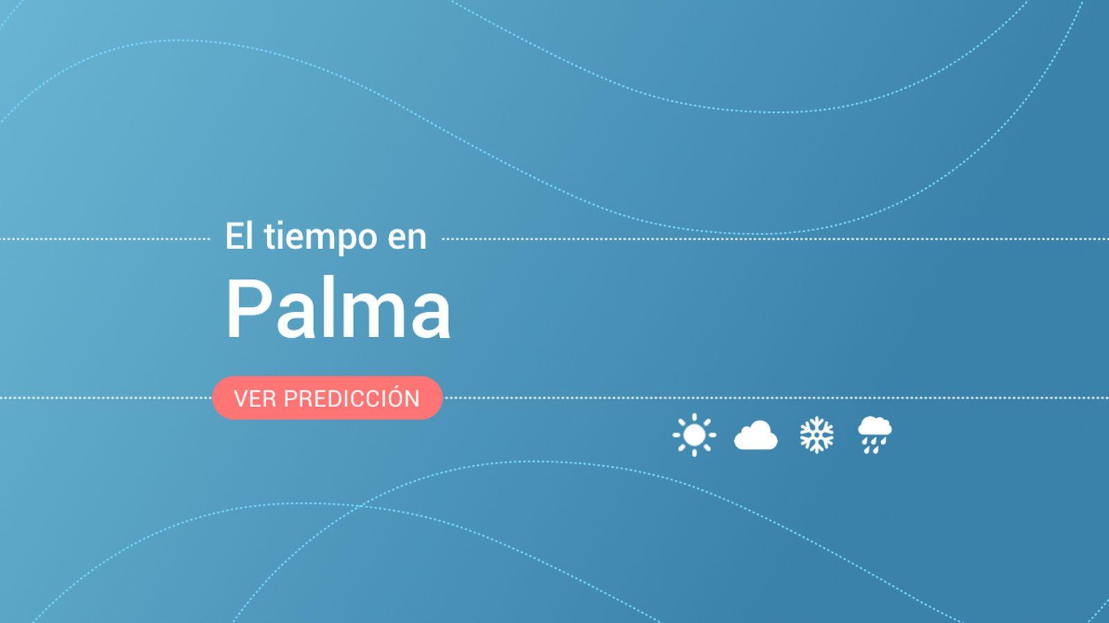 Foto: El tiempo en Palma. (EC)