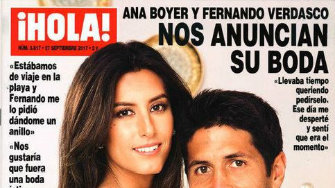 Ana Boyer se casa antes que su madre