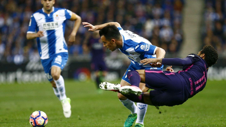 Jurado y Neymar. (EFE)