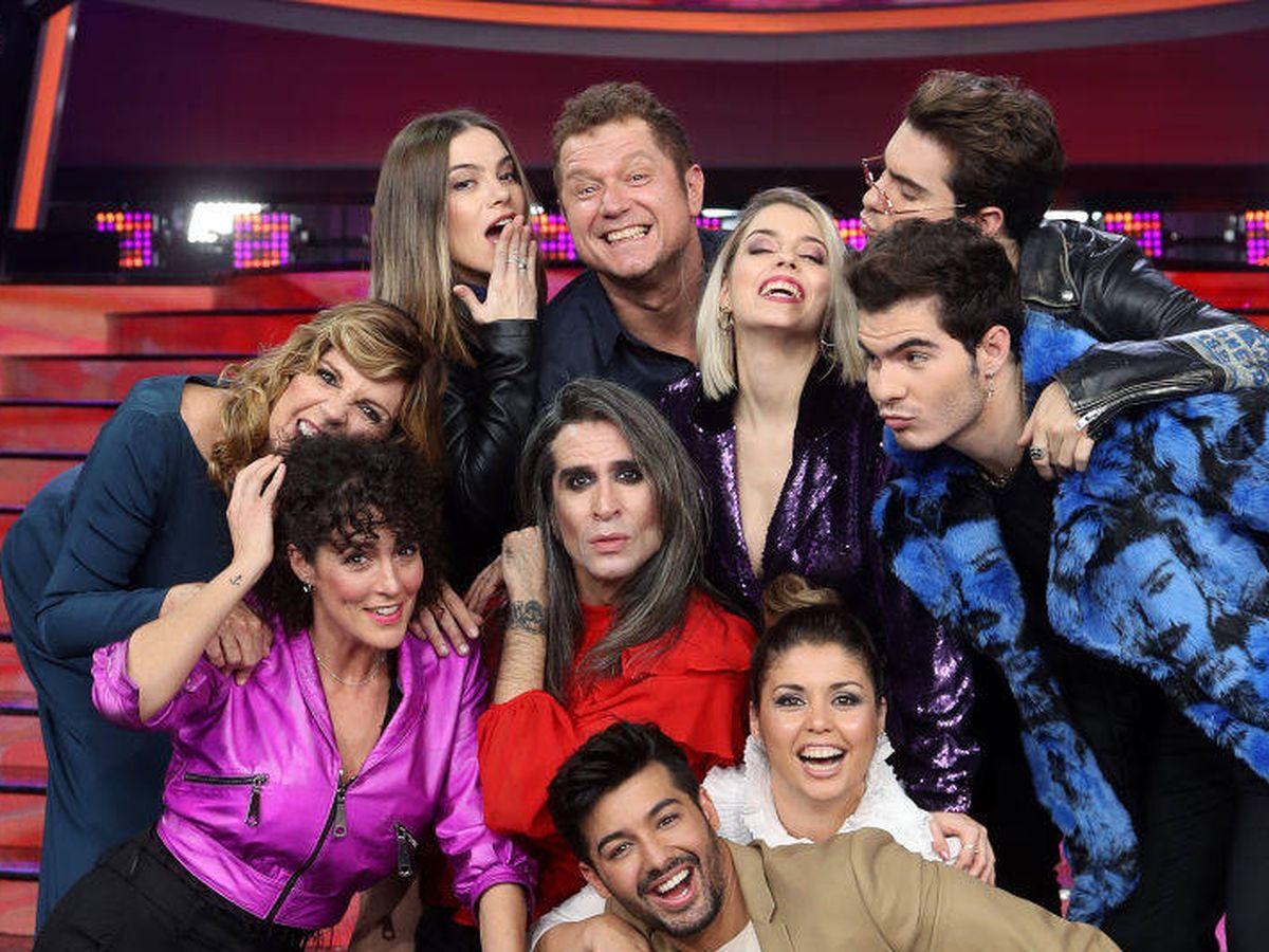 Foto: Los concursantes de la octava edición de 'Tu cara me suena'. (Atresmedia)