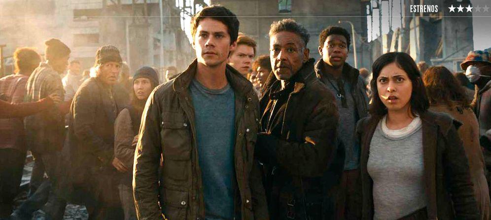 Foto: Dylan O'Brien protagoniza la saga 'El corredor del laberinto'. (Fox)
