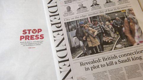 'The Independent', rentable por primera vez en 20 años tras suprimir el papel