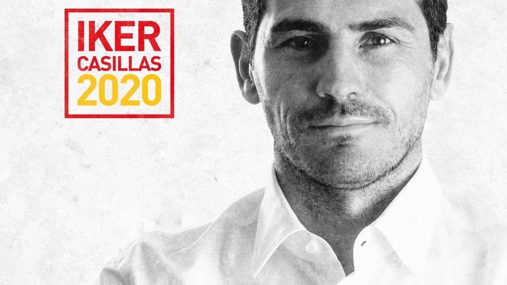 Foto: Imagen con la que Iker Casillas presenta su candidatura a la presidencia de la RFEF