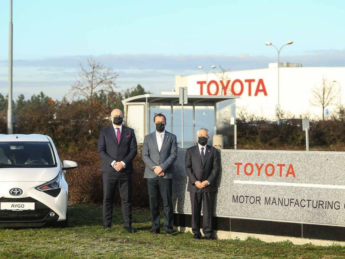 Foto: El pasado 1 de enero se inauguró la factoría de Kolin con la nueva denominación exclusiva de Toyota.