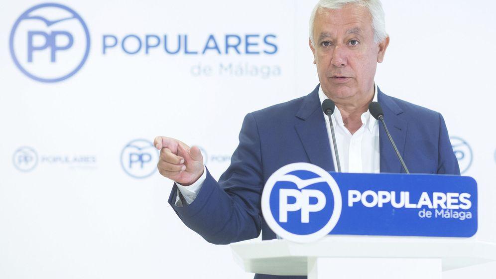 Foto: El vicesecretario de Política Autonómica y Local del PP, Javier Arenas. (EFE)