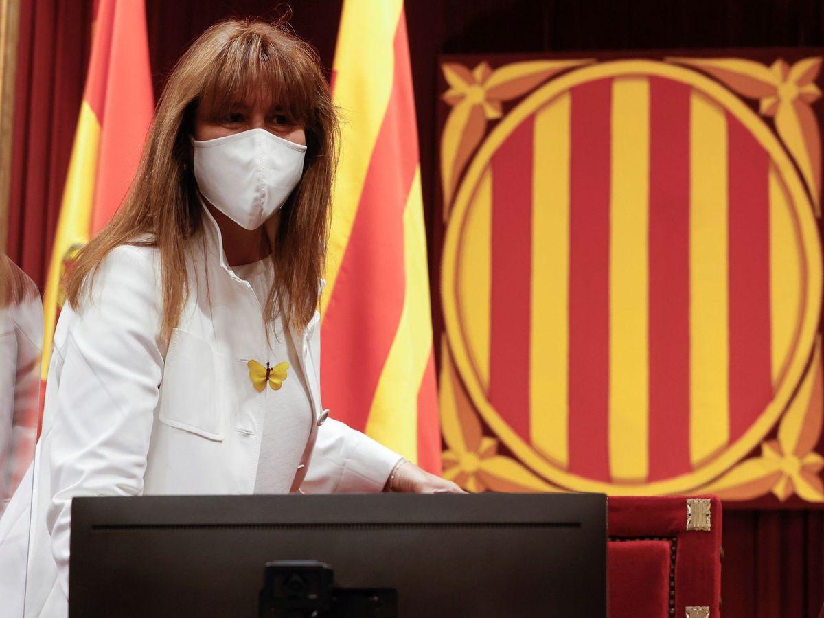 Foto: La presidenta del Parlament, Laura Borràs. (EFE)