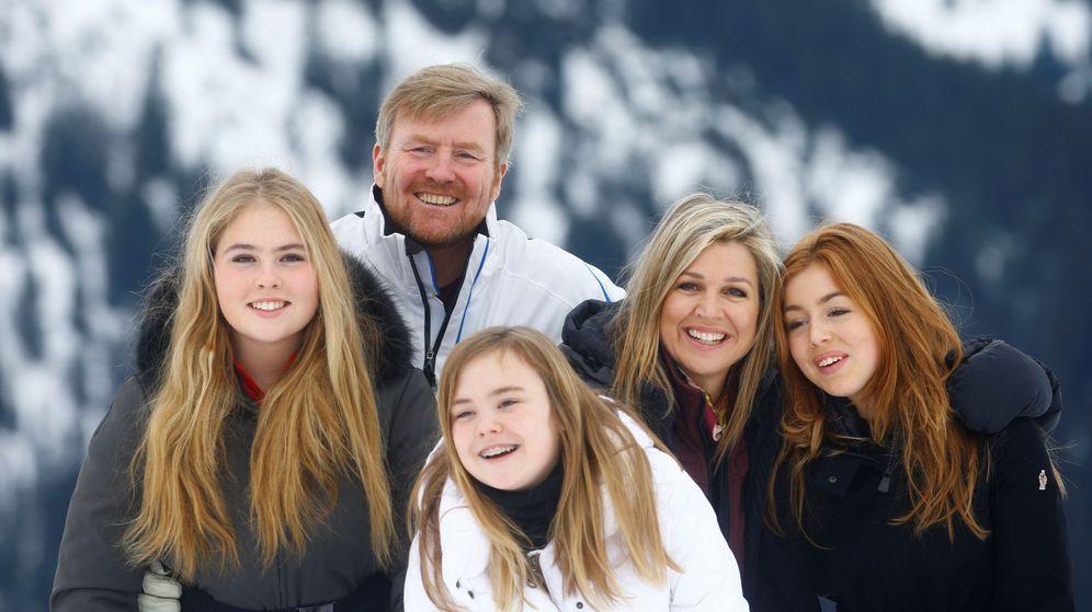Foto: La familia real de Holanda en Lech. (Reuters)