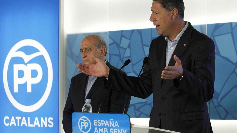 Foto: Fernández Díaz y García Albiol, en rueda de prensa. (EFE)
