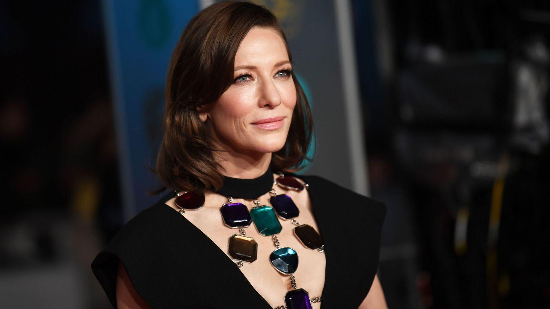 Cate Blanchett a su llegada a los BAFTA.  (EFE)