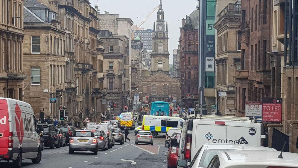 Foto: Zona acordonada por la Policía donde se ha producido el ataque. (EFE)