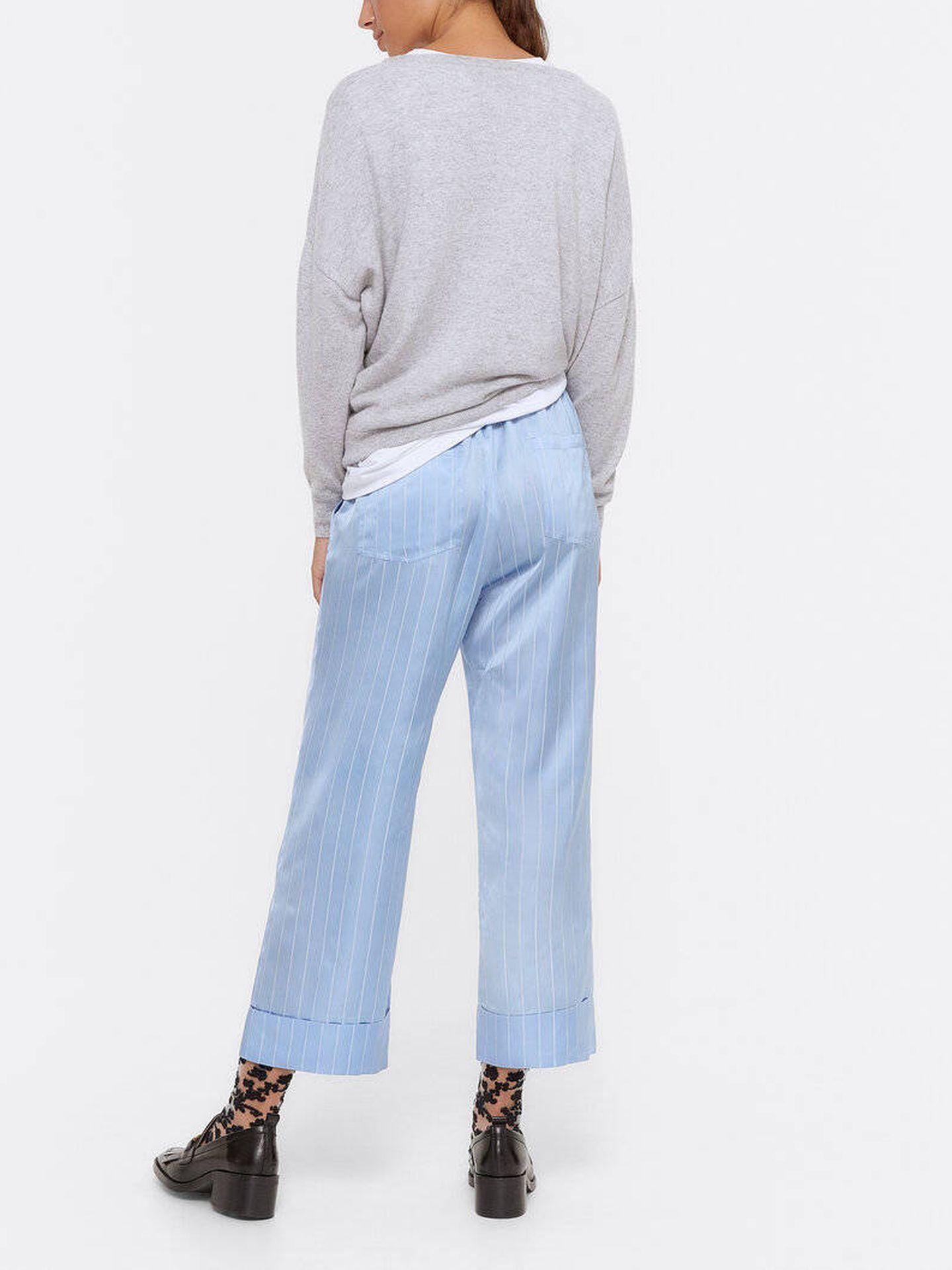 El pantalón de Uterqüe. (Cortesía)