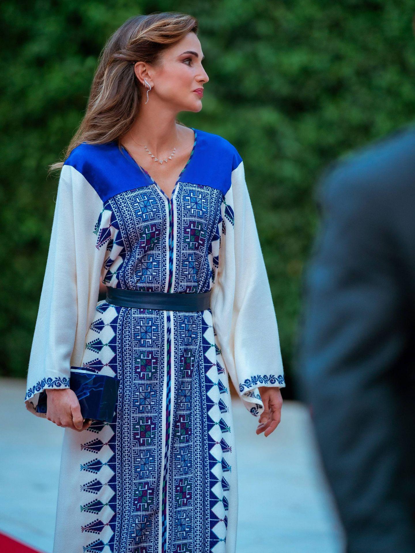 Rania de Jordania celebra el Día de la Independencia. (Cordon Press)