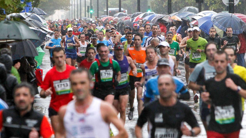 El 10-N, el mal tiempo y 33.500 atletas hacen del centenario de la Behobia su mayor reto