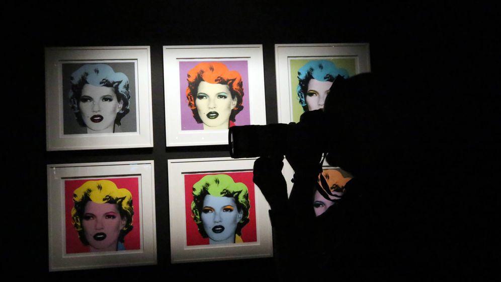 Foto: Detalle de la exposición de Banksy en La Térmica (La Térmica).