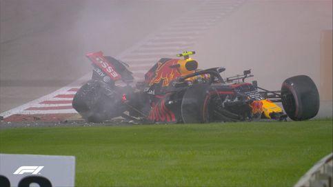 El castañazo de Albon en Baréin que puede significar su adiós a la F1