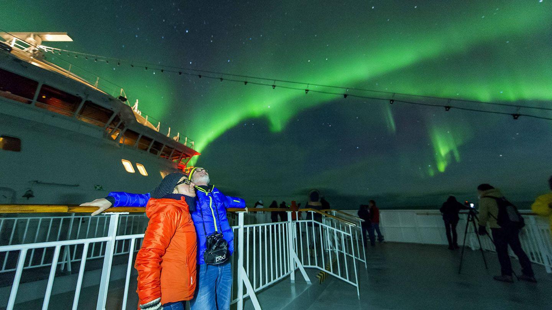 A bordo del Expreso del Litoral. (Foto: Hurtigruten)