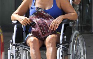 """Alba Flores: """"Hace falta muchísimo más que una pierna rota para poder con una Flores"""""""