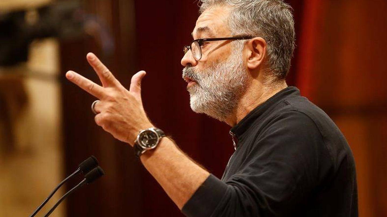 El diputado de la CUP, Carles Riera. (EFE)