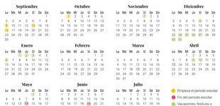 Post de Calendario escolar de 2019-2020 en País Vasco: vacaciones y festivos