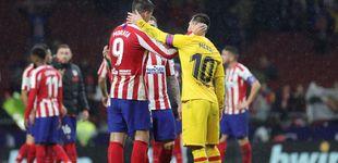 Post de La racha del Cholo Simeone contra el Barcelona que no parece tener fin