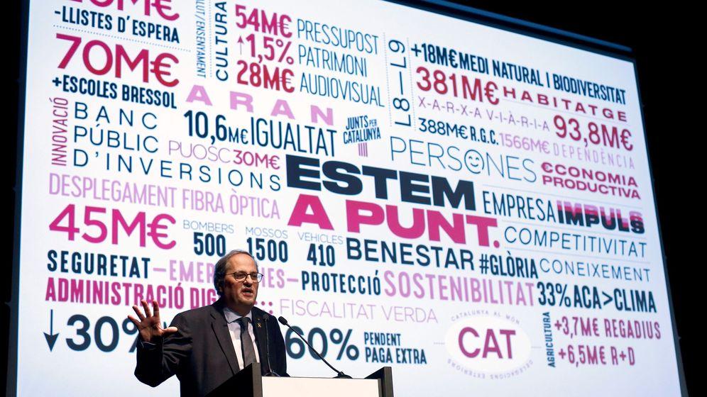 Foto:  El 'president' de la Generalitat, Quim Torra. (EFE)