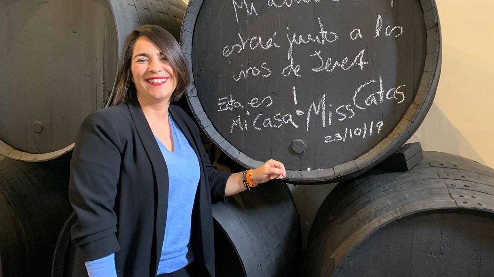 La sumiller que garantiza el escaño de Cádiz: Cs es como un vino Amontillado
