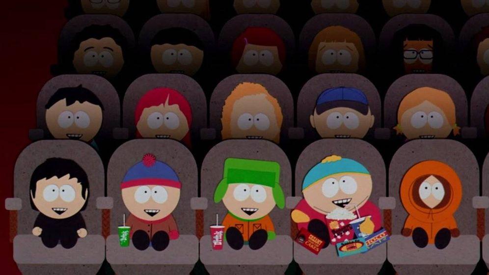 Foto: Los protagonistas de 'South Park' en el cine. (Warner)