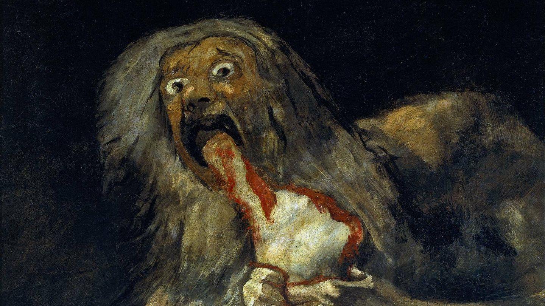 'Saturno devorando a su hijo', de Francisco de Goya. (Wikipedia)