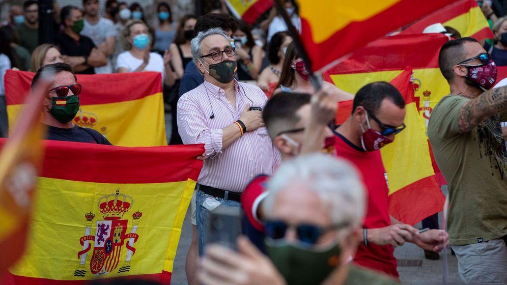Foto: Manifestación en Murcia este miércoles (EFE)