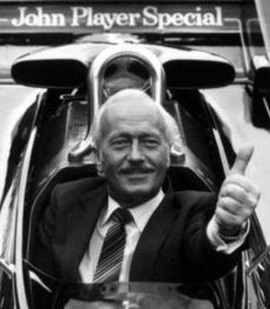 Foto: Colin Chapman, el Freud de la Fórmula 1