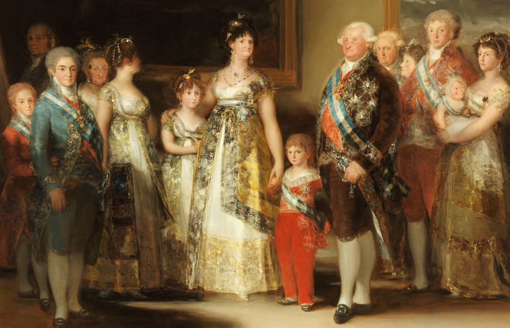 Foto: La familia de Carlos IV, de Francisco de Goya.