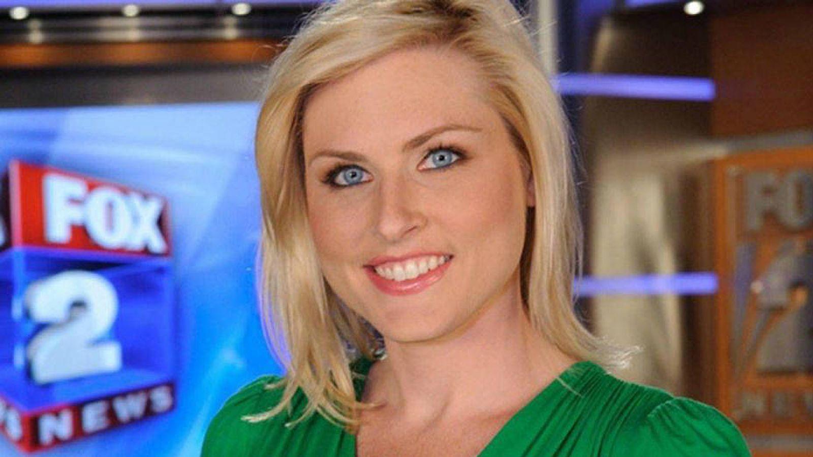 Foto: Imagen de Jessica Starr, presentadora del tiempo en 'Fox 2'. (Fox TV)