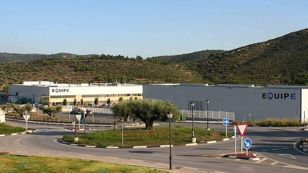 Foto: La fábrica de Equipe Cerámica en Figueroles (Castellón)