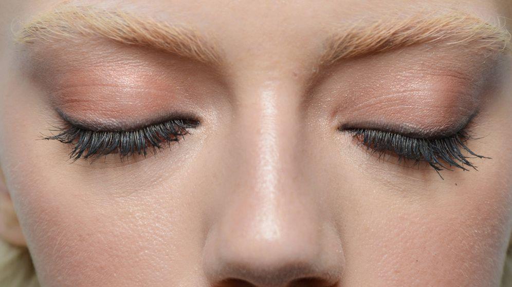 Foto: ¿Cómo cuidar el contorno de los ojos? (Modelo en el desfile de Ermanno Scervino - Getty)