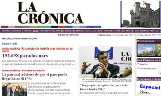 Foto: La Crónica de León, antiguo aliado de El Mundo, se pone en manos de Vocento
