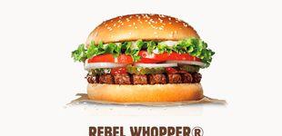 Post de Burger King pone a la venta en España su primera hamburguesa vegetariana
