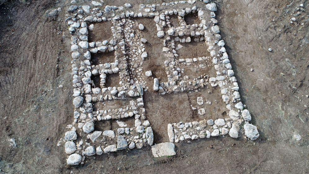 Foto: Hallada en Israel un fortaleza canaanita contra los filisteos de hace 3.200 años. Foto: -EFE Autoridad de Antigüedades de Israel