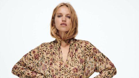 Zara acierta con un vestido largo de aire bohemio y elegante