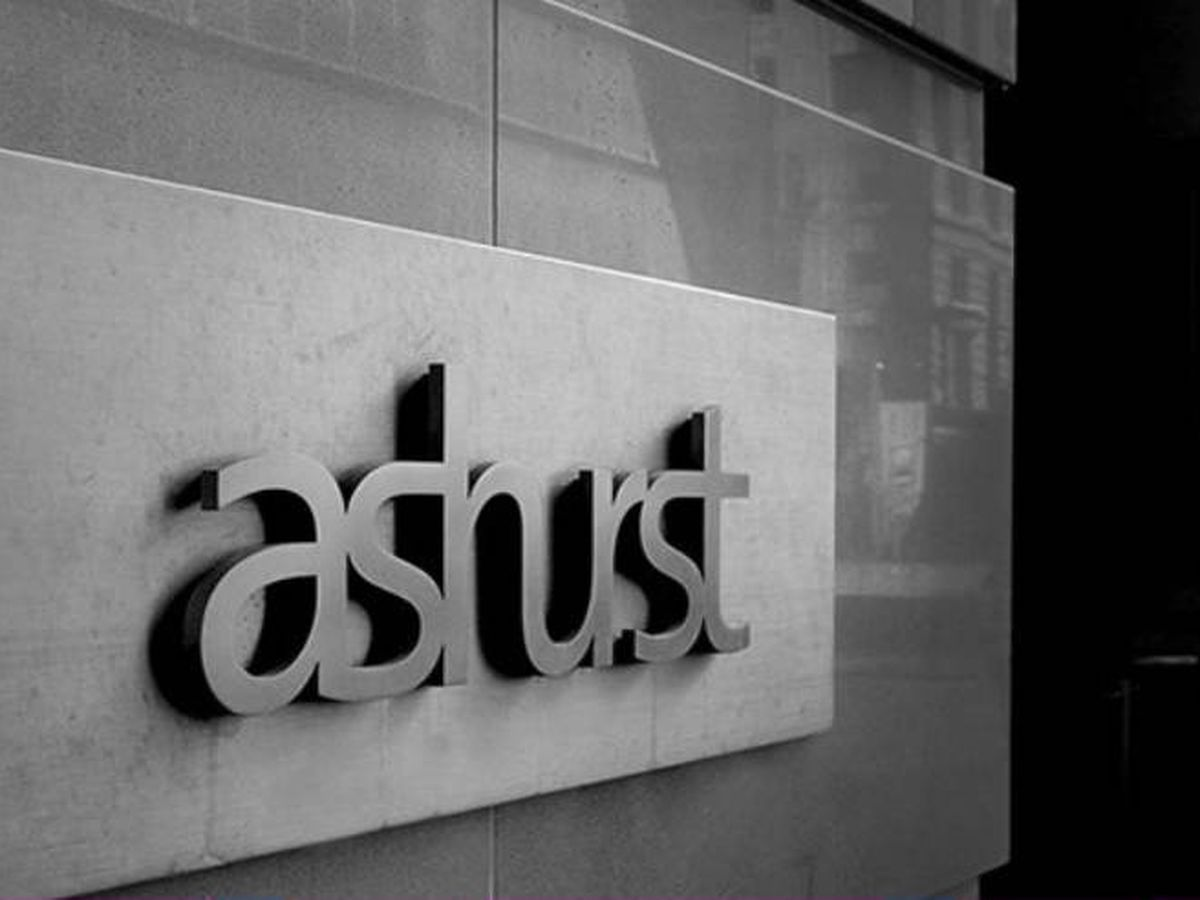 Foto: Logo del despacho de abogados Ashurst. (Ashurst)