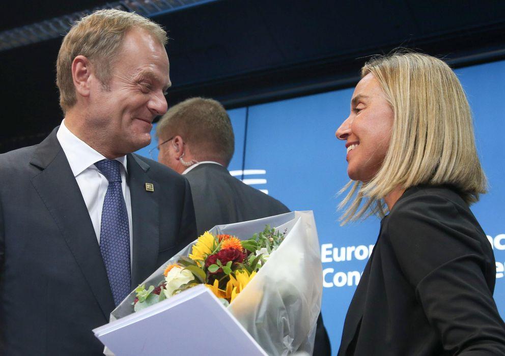 Foto: Tusk y Mogherini afrontarán los retos de la UE (Reuters).