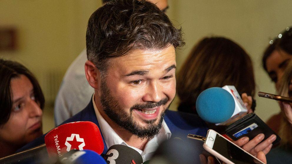 Rufián critica la pasividad de los Mossos: Ha llegado el tiempo de las dimisiones