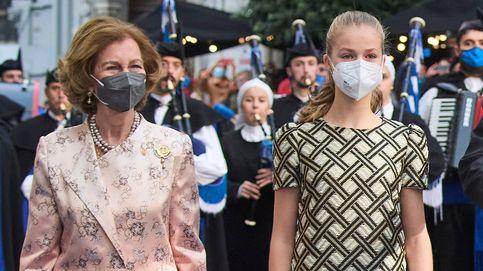 El efusivo beso de la reina Sofía a Leonor y otros 7 gossip de los Princesa de Asturias