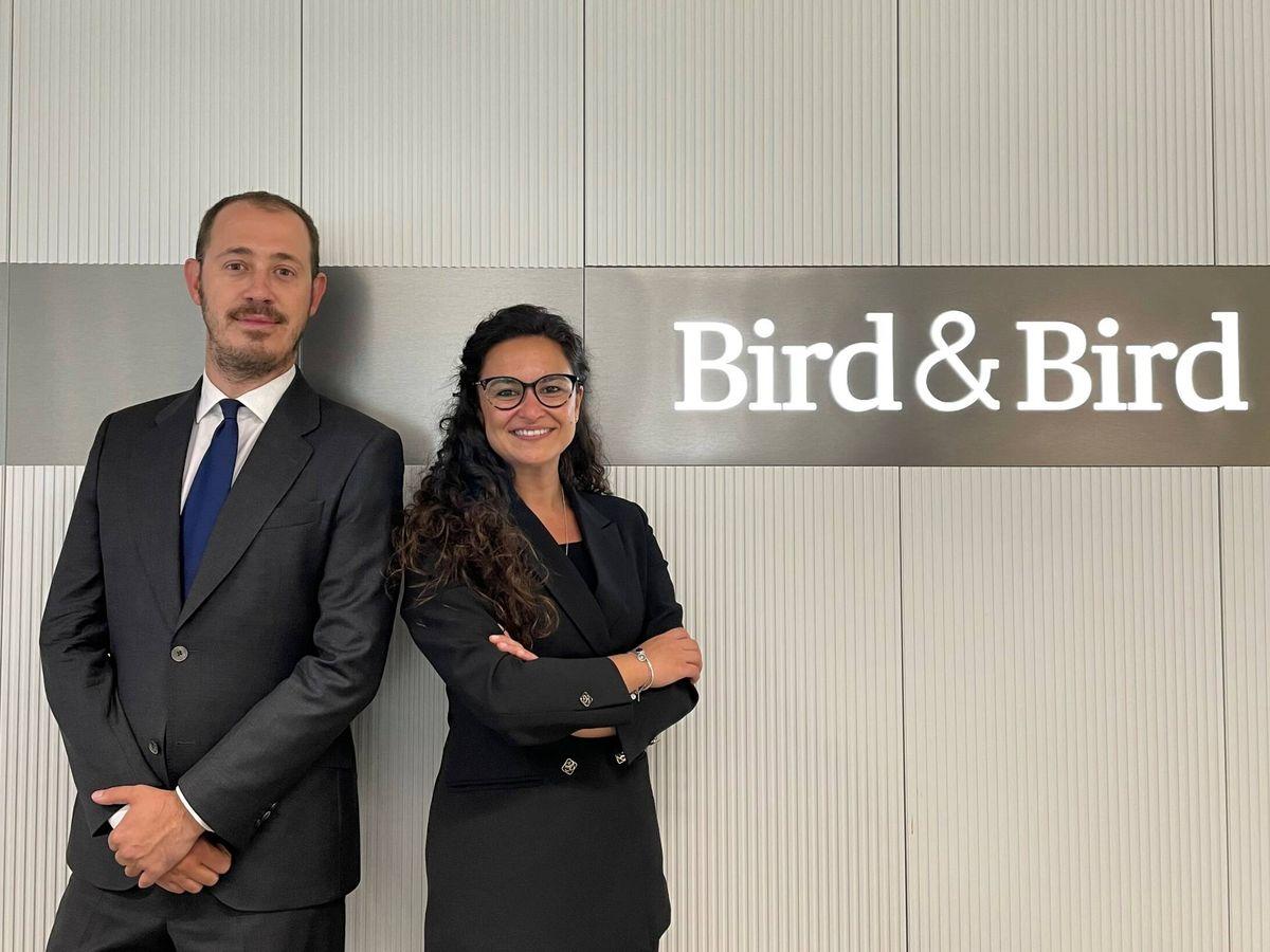 Foto: Miguel Pastur e Isabel Rodríguez León, socio y 'counsel' de Laboral de Bird