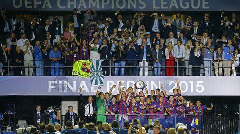 Las cinco Champions del FC Barcelona
