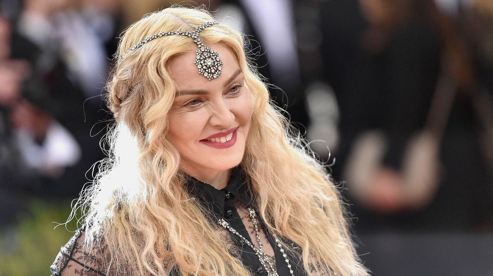 Foto:  Madonna, en una imagen de archivo. (Getty)