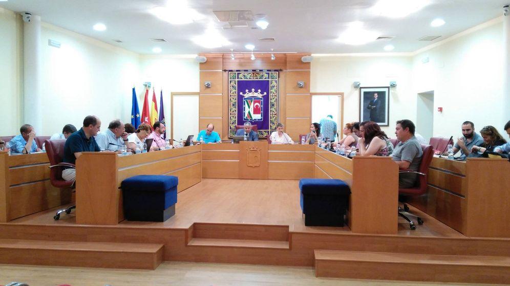 Foto: Pleno municipal del Ayuntamiento de Colmenar