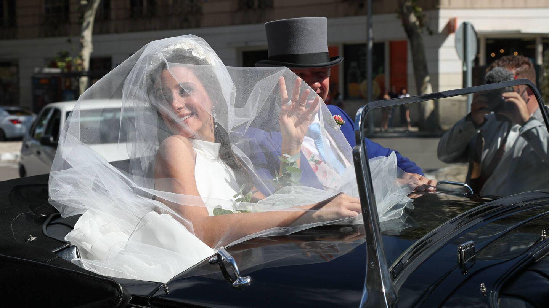 Rocío Gil en su boda. (Gtres)