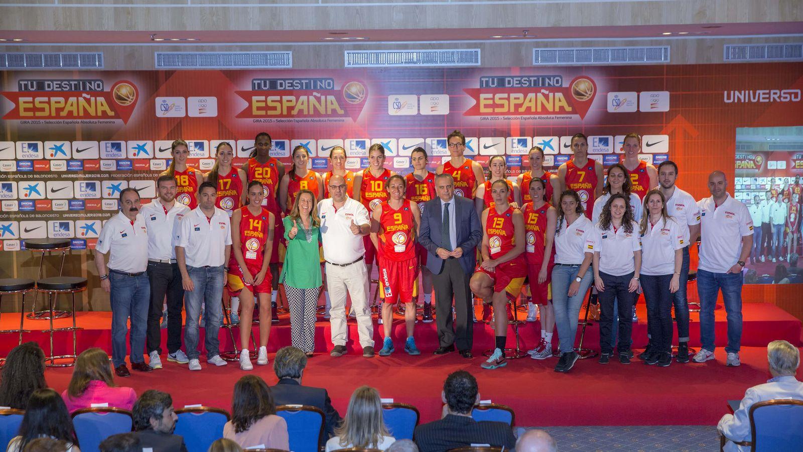 Foto: La selección femenina busca revalidar el título europeo (Foto: FEB)