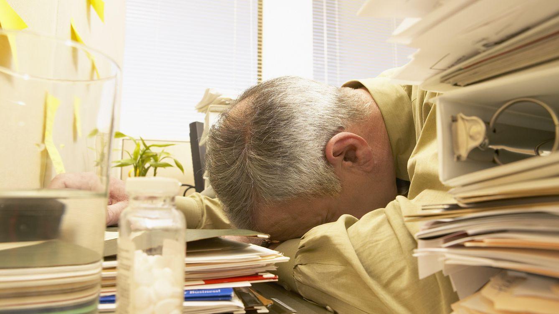Foto: No dejes que el trabajo pueda contigo. (Corbis)